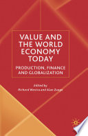 Value and the World Economy Today