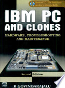 Ibm Pc And Clones  Hardware  Troubleshooting And Maintenance  Book   Cd