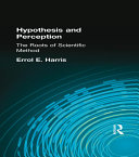 Hypothesis and Perception Taylor Francis An Informa Company