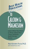 download ebook user\'s guide to calcium and magnesium pdf epub