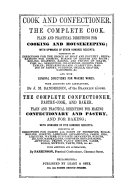 Cook And Confectioner