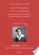 Auto/Biografie und Frauenfrage