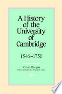 A History of the University of Cambridge: