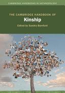 The Cambridge Handbook of Kinship Book PDF