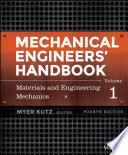 Mechanical Engineers  Handbook  Volume 1