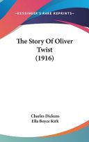 The Story of Oliver Twist  1916