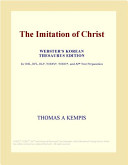 The Imitation Of Christ (Webster's Korean Thesaurus Edition) : frequently assigned readings in english courses. by using...
