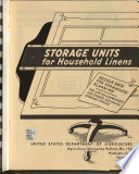 Storage Units for Household Linens