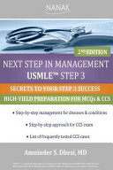 Next Step in Management USMLE Step 3