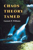 Chaos Theory Tamed