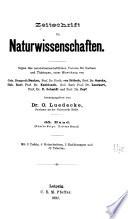 Zeitschrift für Naturwissenschaften