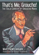That  s Me  Groucho