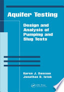 Aquifer Testing