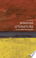 Spanish Literature  A Very Short Introduction