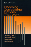 Choosing Correctional Options That Work