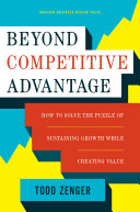 Beyond Competitive Advantage