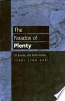 The Paradox of Plenty Book PDF