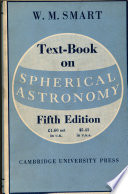 Text Book On Spherical Astronomy book