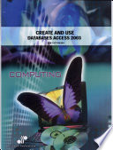 Create And Use Databases Access 2003  book
