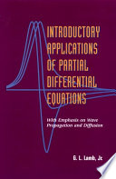 Introductory Applications of Partial Differential Equations