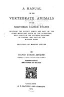 download ebook manual of the vertebrate animals of the northern united states including the district north and east of the ozark mountains, south of the laurentian hills, north of the southern boundary of virginia, and east of the missouri river, inclusive of marine spe pdf epub