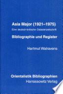 Asia Major (1921-1975)