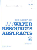 Selected Water Resources Abstracts : ...
