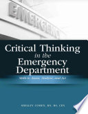 Critical Thinking in the Emergency Department