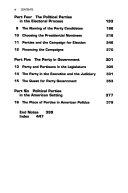 Party Politics in America