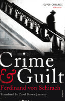 Crime and Guilt The Garden Axe When His