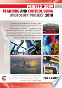 PRINCE2 2009 Planning and Control Using Microsoft Project 2010