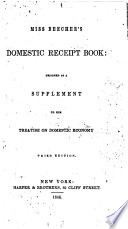 Miss Beecher s Domestic Receipt Book