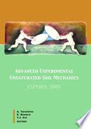 Advanced Experimental Unsaturated Soil Mechanics