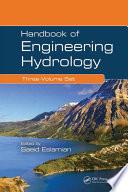 Handbook Of Engineering Hydrology Three Volume Set