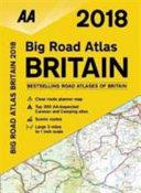 2018 Big Road Atlas Britain (Spiral-Bound)