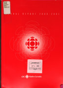 Annual Report   Canadian Broadcasting Corporation