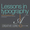 download ebook lessons in typography pdf epub