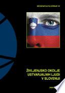 Življenjsko okolje ustvarjalnih ljudi v Sloveniji