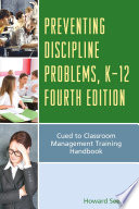 Preventing Discipline Problems  K 12