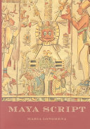 Maya Script : sixteenth century, maya cities had long since...