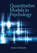 Quantitative Models in Psychology