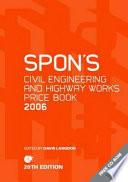 Spon S Civil Engineering And Highway Works Price