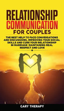 Book Relationship Communication for Couples