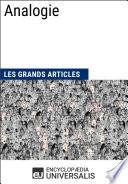 Analogie (Les Grands Articles d'Universalis)