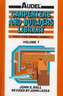 AudelCarpenters and Builders Library