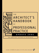 The Architect S Handbook Of Professional Practice Update 2006 book