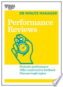 Performance Reviews  HBR 20 Minute Manager Series