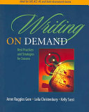 Writing on Demand