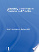 Upholstery Conservation Principles And Practice