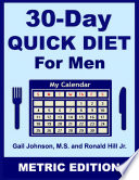 30 Day Quick Diet for Men   Metric Edition